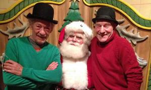 Snapshot: Patrick Stewart, Ian McKellen Win Christmas