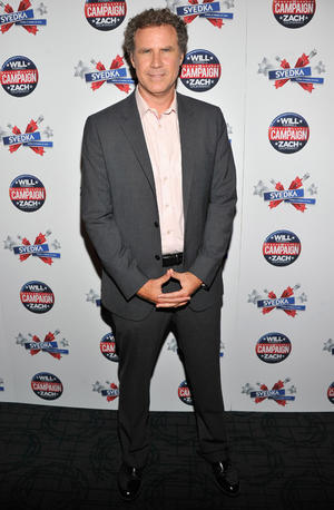 """Will Ferrell at the California premiere of """"The Campaign."""""""