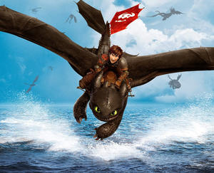 "A scene from ""How To Train Your Dragon 2."""