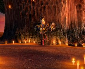 "Manolo voiced by Diego Luna in ""The Book of Life."""