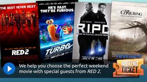 Weekend Ticket with the cast of Red 2