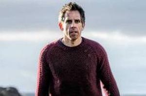 Ben Stiller Hopes a Skateboard Can Save Him in First 'Secret Life of Walter Mitty' Photo