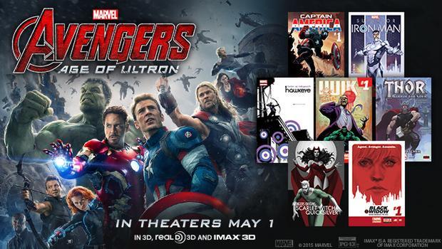 marvels avengers age of ultron digital comics free