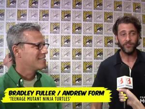 SDCC Exclusive: TMNT - Bradley Fuller and Andrew Form