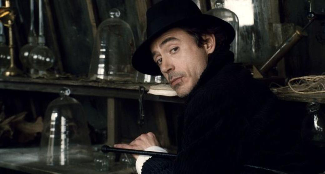 Robert Downey, Jr. as Sherlock Holmes in