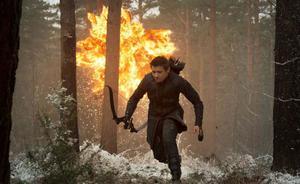 """Jeremy Renner as Hawkeye in """"Avengers: Age of Ultron."""""""