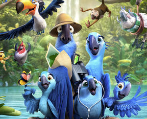 New photos from 'Rio 2'