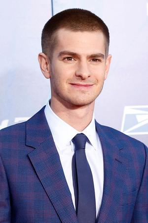 """Andrew Garfield at the New York premiere of """"The Amazing Spider-Man 2."""""""