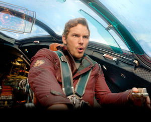 """A scene from """"Guardians of the Galaxy."""""""
