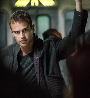 Theo James as Four in Divergent
