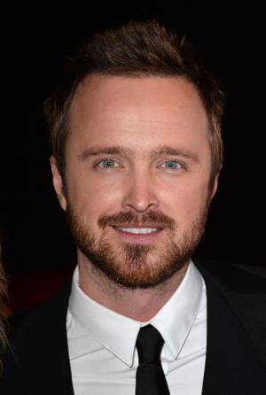 """Aaron Paul at the California premiere of """"Need For Speed."""""""