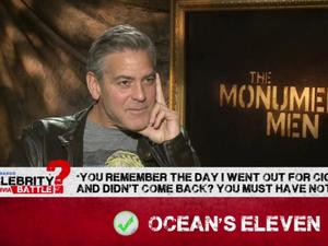 Exclusive: Celebrity Trivia Battle with George Clooney