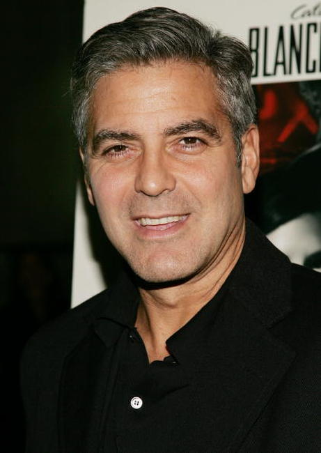 George Clooney at a special N.Y. screening of