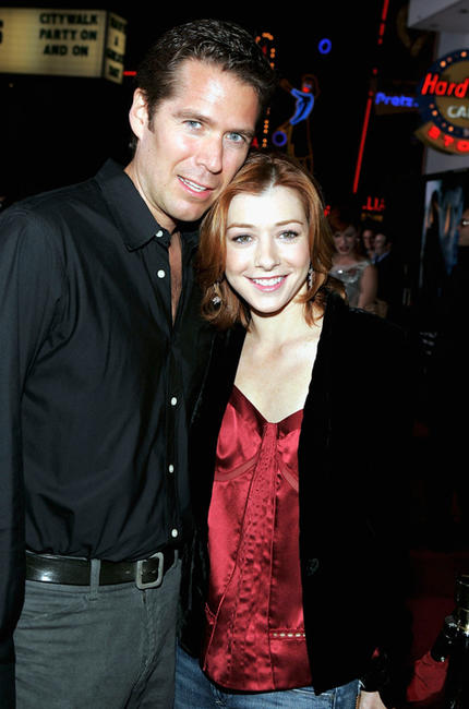 Alyson Hannigan And Alexis Denisof Buffy Alexis Denisof and Alyson