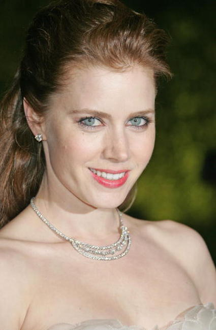 Amy Adams at the 2007 Vanity Fair Oscar Party in West Hollywood.