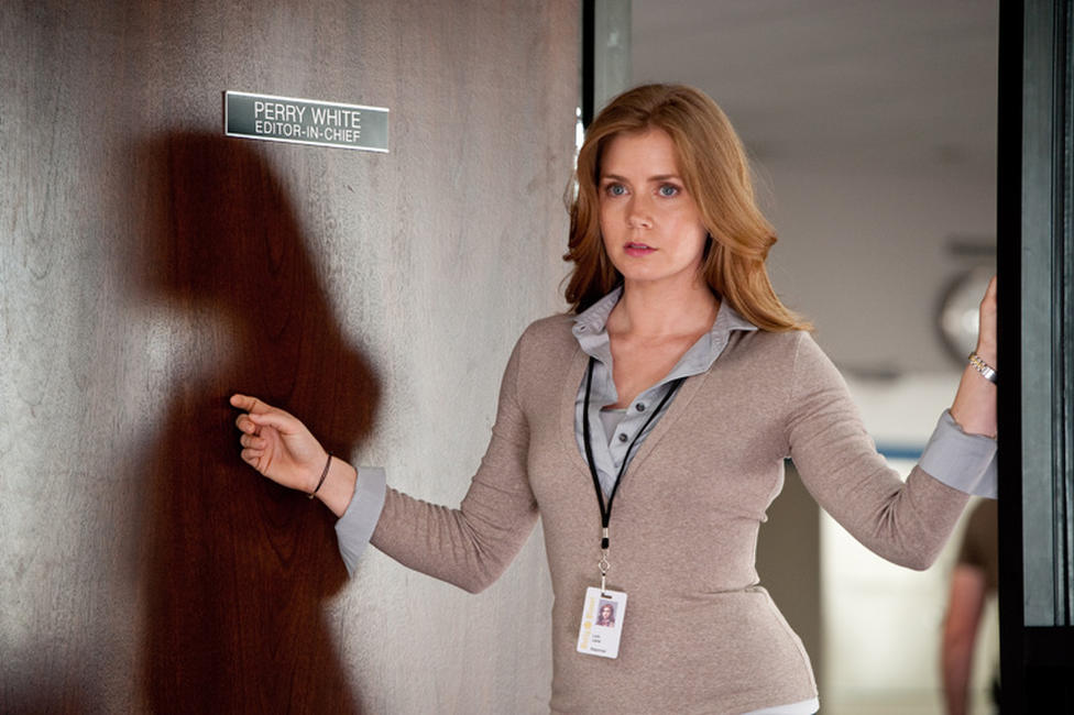 Amy Adams as Lois Lane in