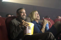 George Clooney and Frances McDormand in