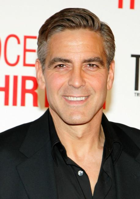 George Clooney at the opening night screening of