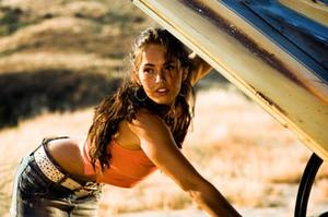 "Megan Fox in ""Transformers."""