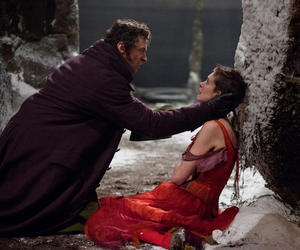 "Hugh Jackman and Anne Hathaway in ""Les Miserables."""