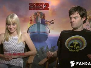 Exclusive: Cloudy with a Chance of Meatballs 2 - The Fandango Interview
