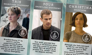 Infographic: 'Insurgent' Character Guide