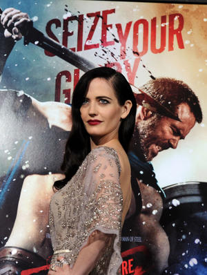 "Eva Green at the California premiere of ""300: Rise Of An Empire."""