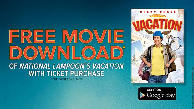 Fandango Vips Get A Free Movie Download Of 39 National Lampoon 39 S Vacation 39 On Google Play Tm With