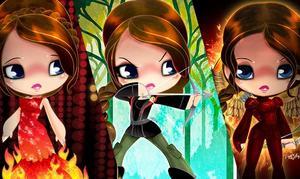 Exclusive: The Looks of Katniss – Original Artwork