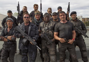 The 'Expendables 3' Cast: Then and Now
