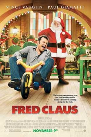 "Poster art for ""Fred Claus."""