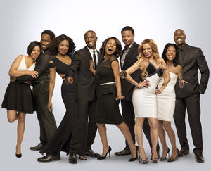 """The cast of """"The Best Man Holiday."""""""
