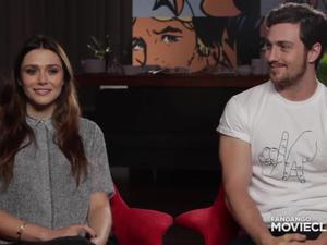 SDCC Exclusive: Avengers: Age of Ultron Elizabeth Olsen and Aaron Taylor Johnson