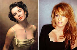 It's Official. Lindsay Lohan to Portray Elizabeth Taylor in TV Biopic