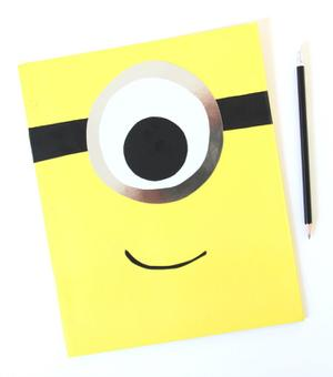 DIY: Make a Mod Minion Folder for School