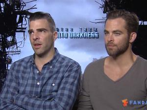 Exclusive: Star Trek Into Darkness - The Fandango Interview