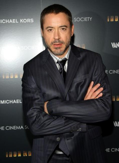 Robert Downey, Jr. at the New York screening of