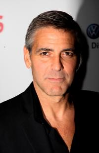 George Clooney at the afterparty following the premiere of