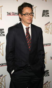 Robert Downey, Jr. at Hollywood Reporter's Next Generation Class of 2006 reception.