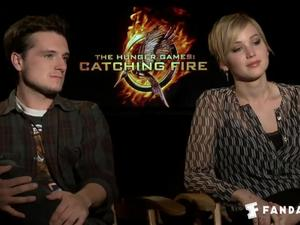 Exclusive: The Hunger Games: Catching Fire - The Fandango Interview