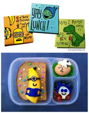 Make School Lunch Fun with Minions and More
