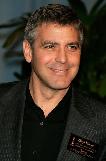 George Clooney at the Oscar Nominees Luncheon.