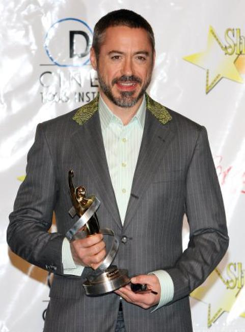 Robert Downey, Jr. at the ShoWest awards ceremony.