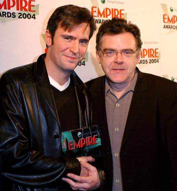Photo of Kevin McNally & his friend actor  Jack Davenport  -  Empire