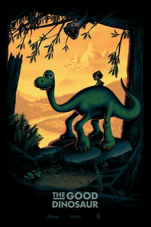 Exclusive: New 'Good Dinosaur' Print from Cyclops Print Works