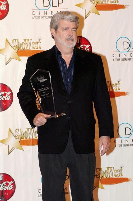 George Lucas at the ShoWest Award Ceremony.