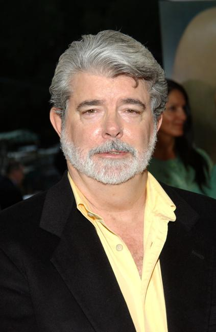 George Lucas at the New York photocall of
