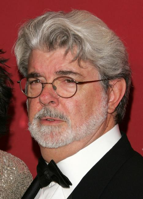 George Lucas at the Time Magazine's celebration of the 100 most influential people.