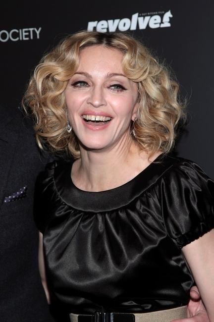 Madonna at the screening of