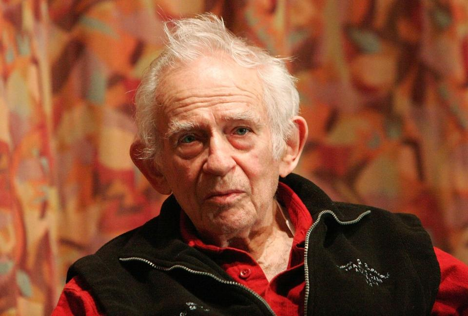 Norman Mailer at the Writers Guild Theater to discuss on his new book